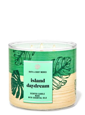Island Daydream fragranza Candela a 3 stoppini
