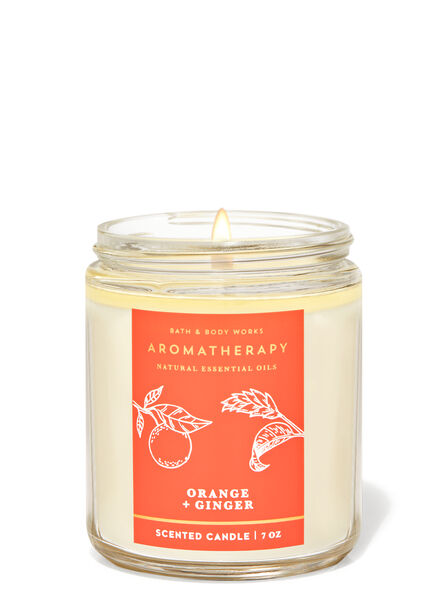 Orange ginger fragranza Candela a 1 stoppino