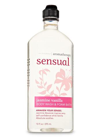 Jasmine Vanilla fragranza Body Wash & Foam Bath