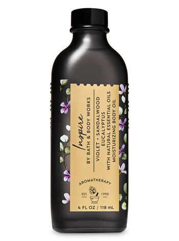 Violet Sandalwood Eucalyptus fragranza Moisturizing Body Oil