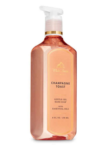 Champagne Toast fragranza Sapone in gel