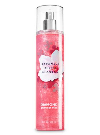 Japanese cherry blossom fragranza Acqua profumata glitterata