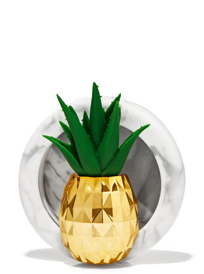 Clip con ananas e pianta grassa fragranza Diffusore per auto