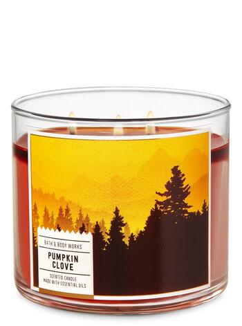 Pumpkin Clove fragranza 3-Wick Candle