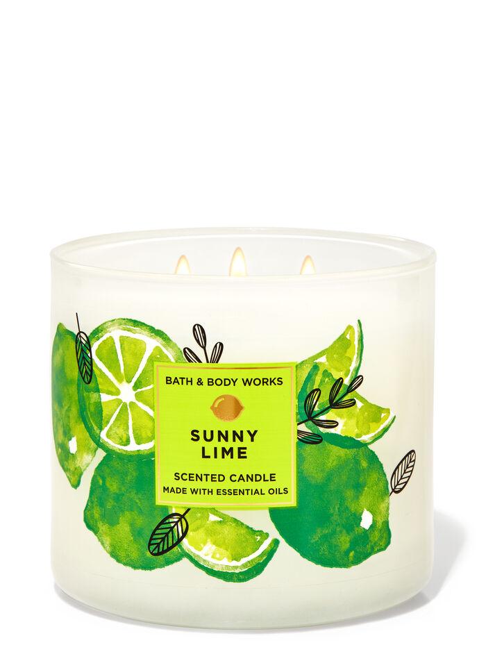 Sunny Lime fragranza Candela a 3 stoppini