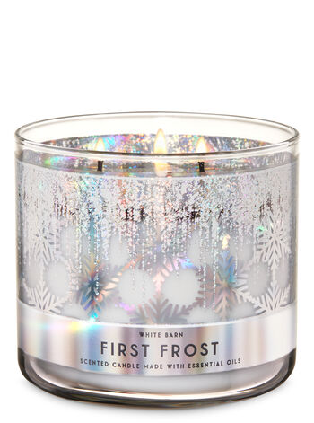 First Frost fragranza Candela a 3 stoppini