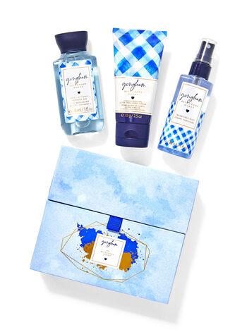 Gingham fragranza Mini set regalo