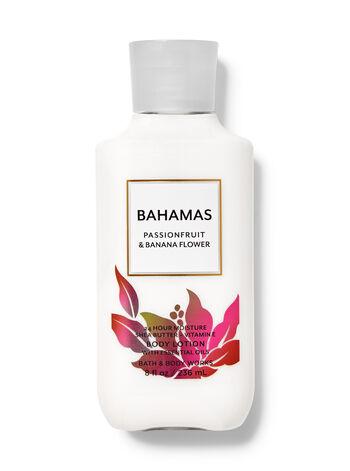 Bahamas Passionfruit & Banana Flower fragranza Latte corpo