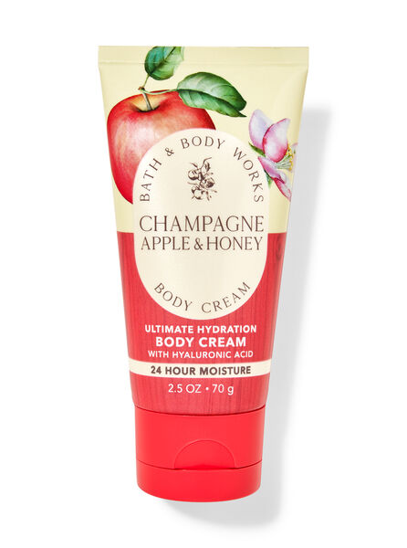 Champagne Apple & Honey fragranza Mini Crema corpo