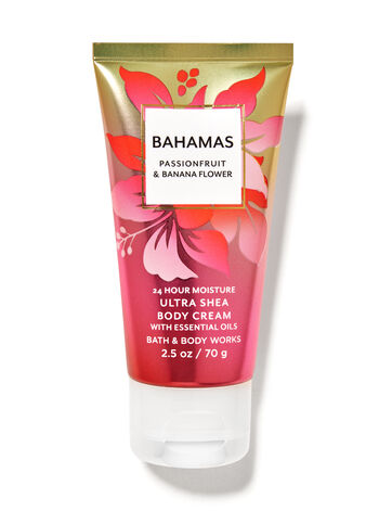 Bahamas Passionfruit & Banana Flower fragranza Mini Crema corpo