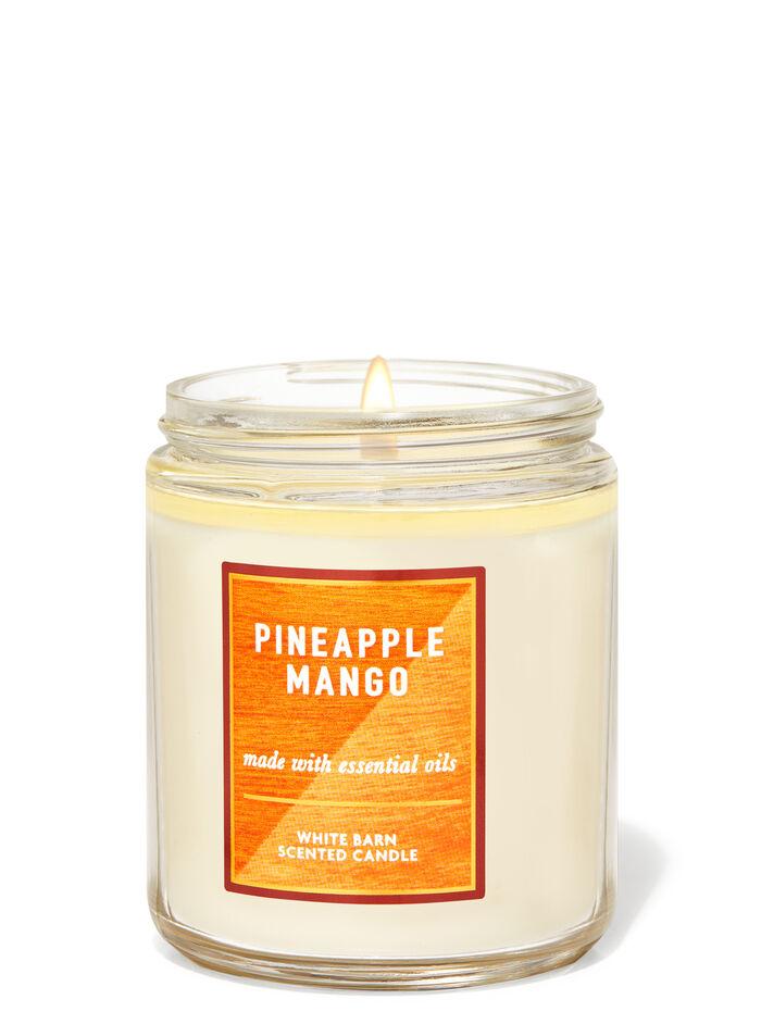 Pineapple Mango fragranza Candela a 1 stoppino