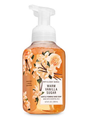 Warm Vanilla Sugar fragranza Sapone in schiuma