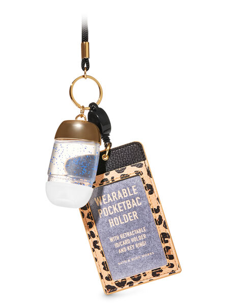 Wearable Leopard ID Card fragranza PocketBac Holder
