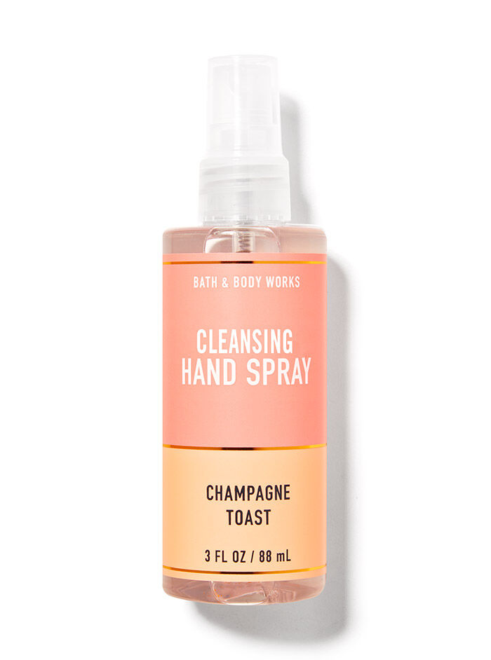 Champagne Toast fragranza Spray igienizzante mani