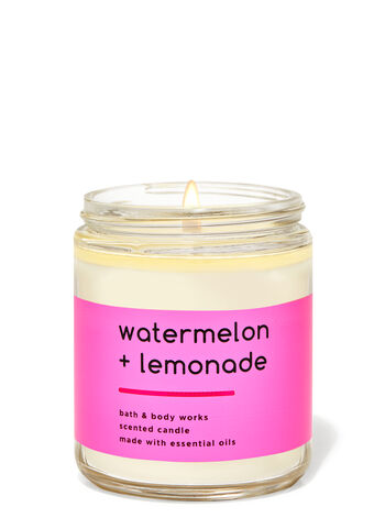Watermelon lemonade fragranza Candela a 1 stoppino