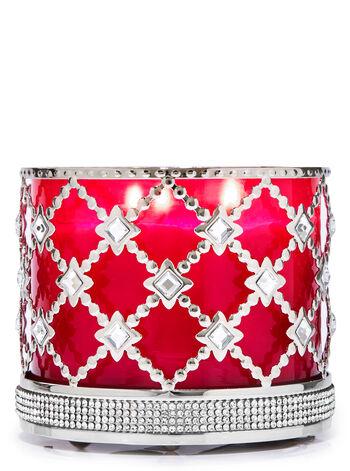 Floral Gemstone fragranza Porta candela a 3 stoppini