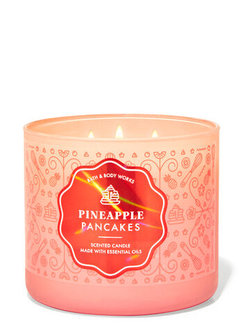 Pineapple Pancakes fragranza Candela a 3 stoppini
