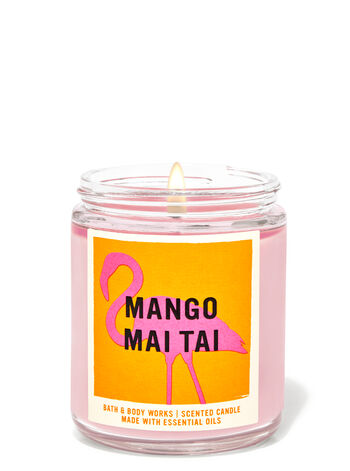 Mango Mai Tai fragranza Candela a 1 stoppino
