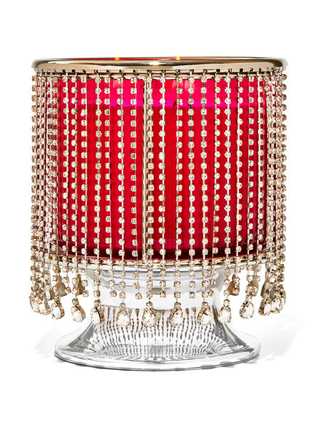 Dangling Gems Pedestal fragranza Porta candela a 3 stoppini