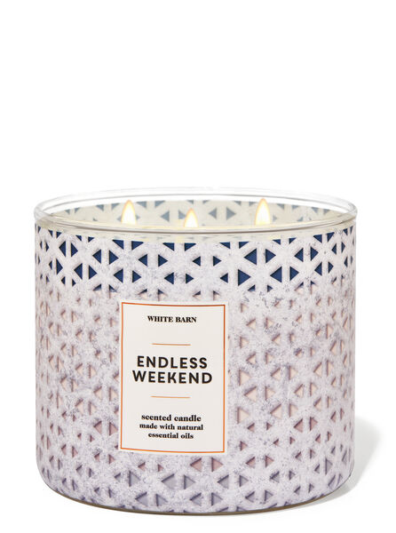 Endless Weekend fragranza Candela a 3 stoppini