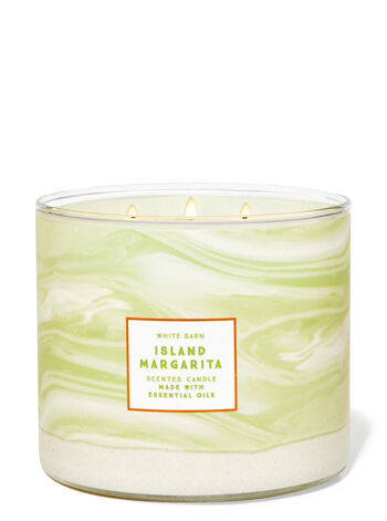 Island Margarita fragranza Candela a 3 stoppini