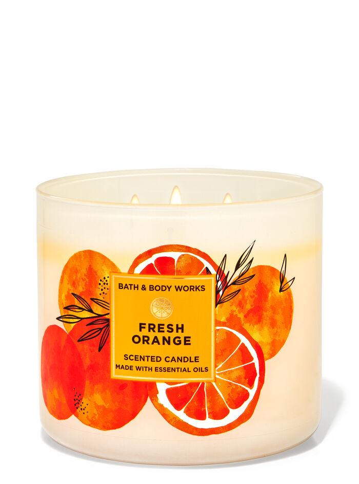 Fresh Orange fragranza Candela a 3 stoppini