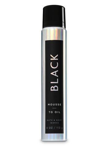 Black fragranza Mousse-to-Oil