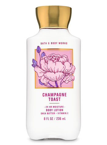 Champagne Toast fragranza Super Smooth Body Lotion