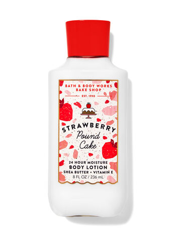 Strawberry Pound Cake fragranza Latte corpo
