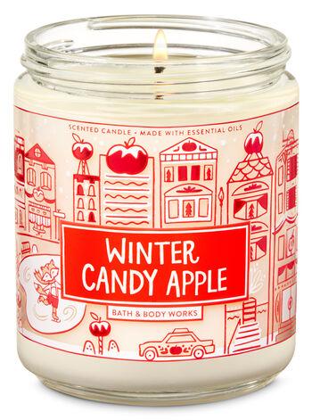 WINTER CANDY APPLE fragranza Candela a 1 stoppino