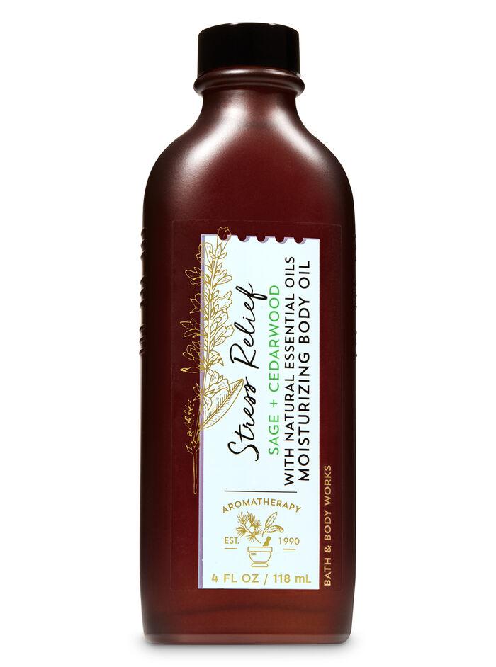 Cedarwood sage fragranza Moisturizing Body Oil