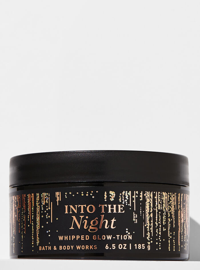 Into the Night fragranza Latte corpo glitterato