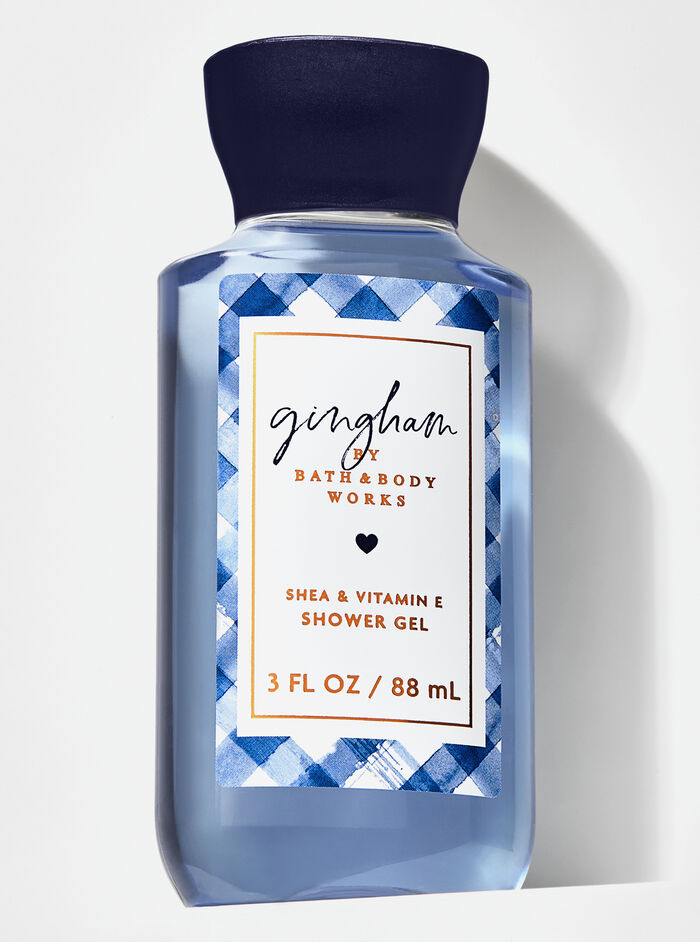 Gingham fragranza Mini Gel doccia