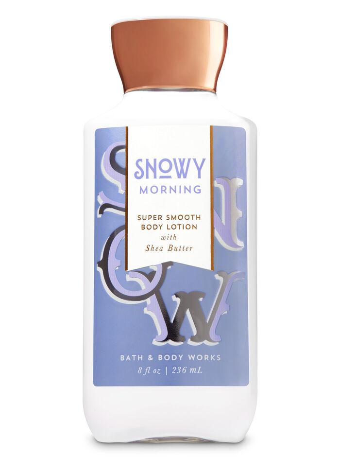 Snowy Morning fragranza Latte corpo