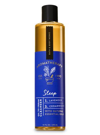 Lavender Cedarwood fragranza Oil To Cream Cleanser