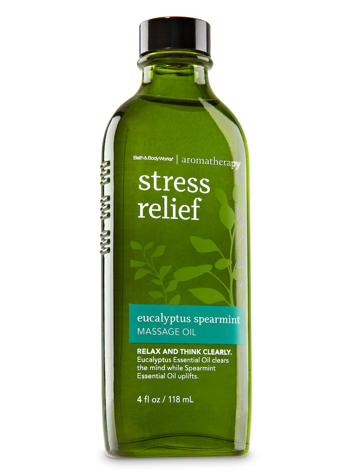 Eucalyptus Spearmint fragranza Massage Oil