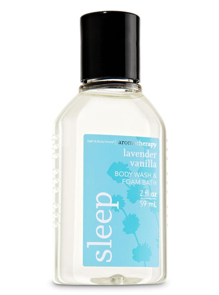 Lavender Vanilla fragranza Travel Size Body Wash & Foam Bath