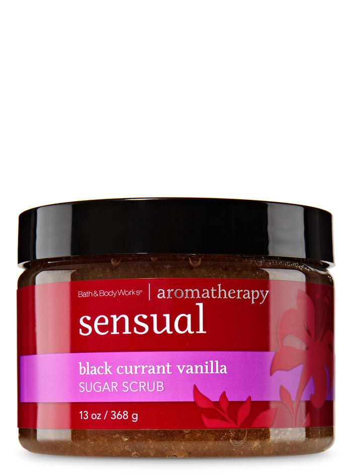 Black Currant Vanilla fragranza Sugar Scrub