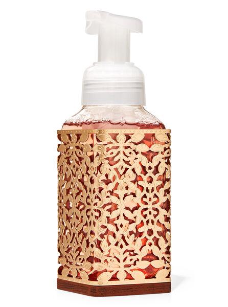 Foglie dorate fragranza Porta sapone