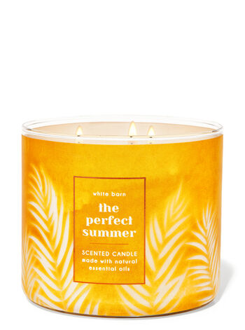 The Perfect Summer fragranza Candela a 3 stoppini