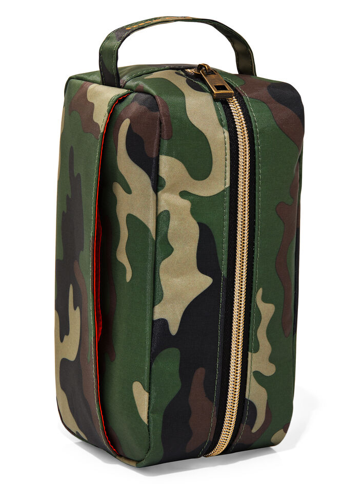 Camouflage fragranza Travel Toiletry Bag
