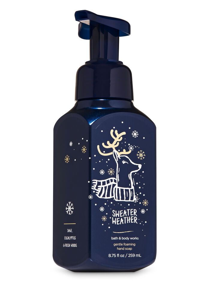 SWEATER WEATHER fragranza Sapone in schiuma