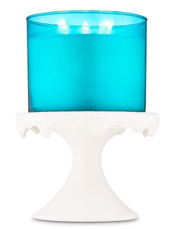 Snow Melt Pedestal fragranza Porta candela a 3 stoppini