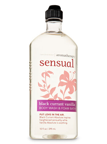 Black Currant Vanilla fragranza Body Wash & Foam Bath