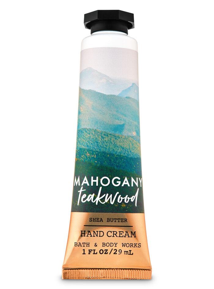 Mahogany Teakwood fragranza Crema mani
