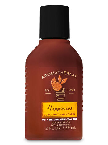 Bergamot & Mandarin fragranza Travel Size Body Lotion