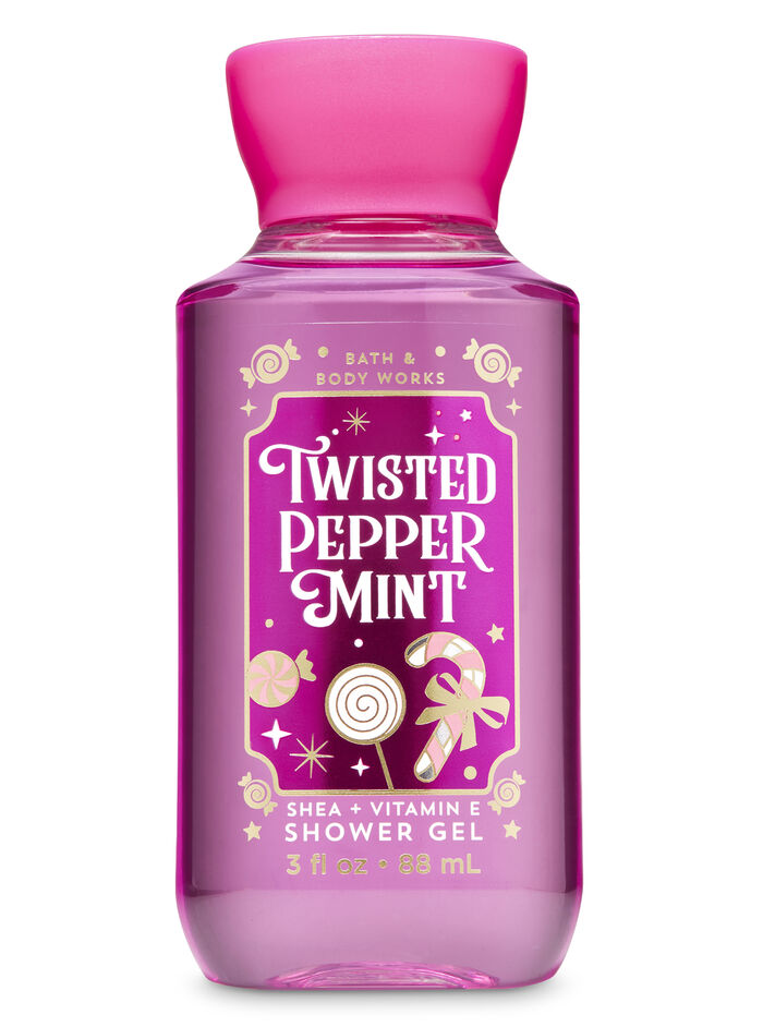 TWISTED PEPPERMINT fragranza Mini Gel doccia