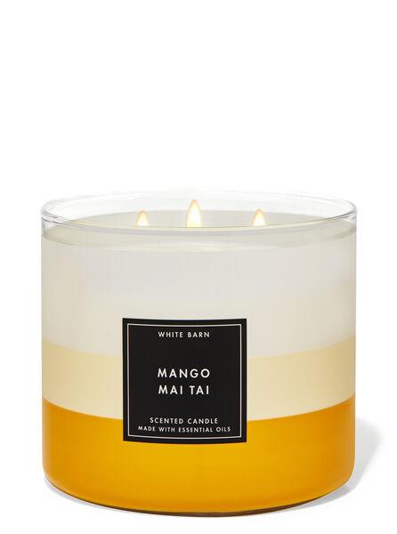 Mango Mai Tai fragranza Candela a 3 stoppini