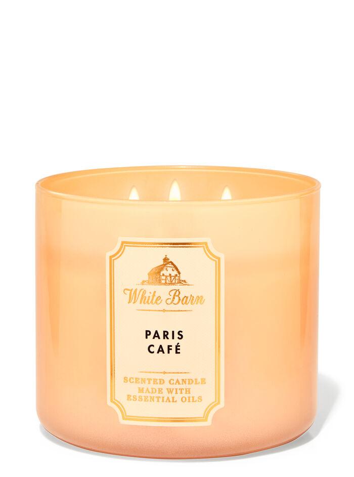 Paris Caf� fragranza Candela a 3 stoppini