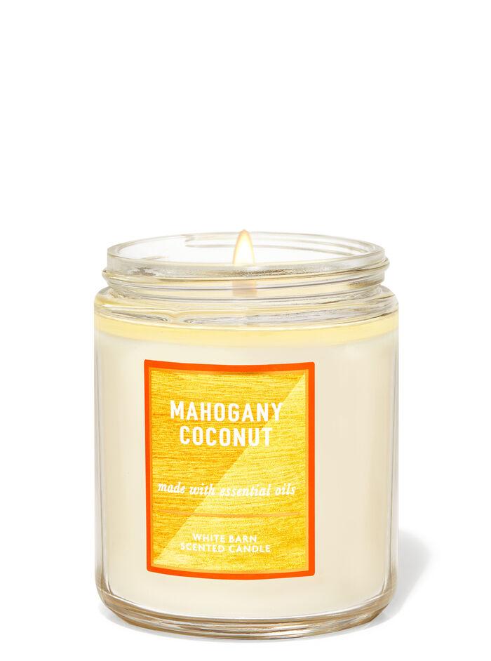 Mahogany Coconut fragranza Candela a 1 stoppino